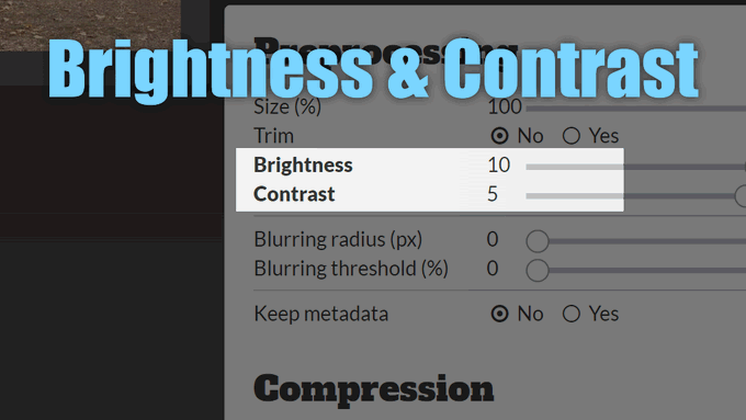 A small update, because I just needed it myself. :) https://t.co/o93is1if2R now supports setting brightness and contrast for JPEG, PNG and WebP formats. Convenient if you just want to prepare scans quickly. https://t.co/XsVPtWcSTR