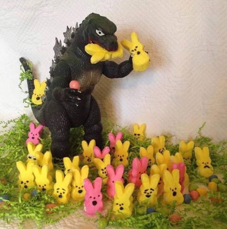 What happened to all the Easter bunnies? #bloodybathmat #horrorfiend #humor #horrorfanatic #prank #nightmare #ilovehorror #notinthislifetime #halloweenmakeup #frightnightpic.twitter.com/8h7HKySiBu