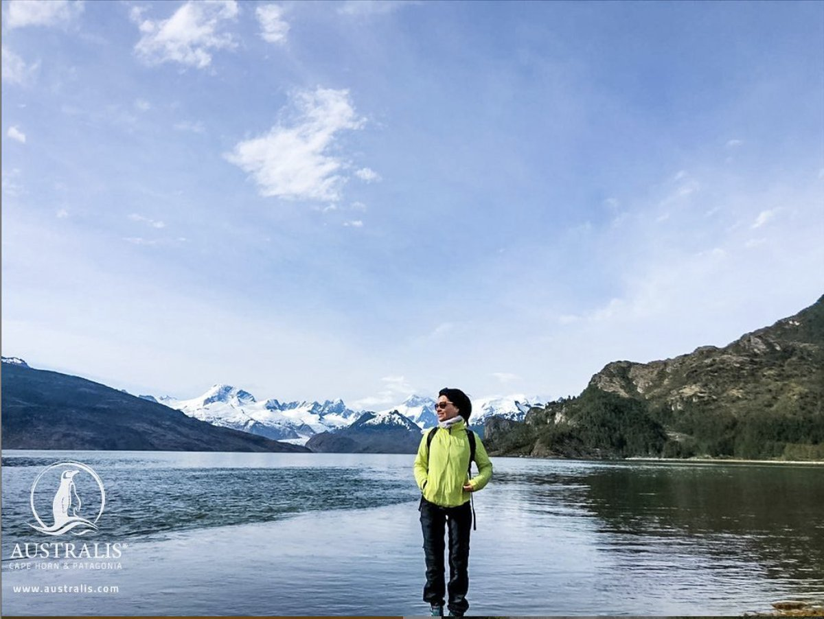 """""""A walk in nature walks the soul back home…."""" These words will remind you just how wonderful it is to be able to explore this incredible world we live in. #TravelMore #VisitPatagonia http://www.australis.com   Ainsworth Bay, Patagonia, Chilepic.twitter.com/TsgNSRenn3"""