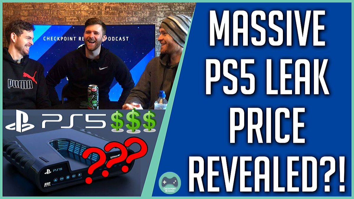 #PS5 price revealed?! @checkreachpod break down the PS5 leaks and discuss the validity of this potential reveal! Great listen/watch!   Check it out here. https://buff.ly/2Gh2h5D   #Gaming #playstation5 pic.twitter.com/OveHVfyT7K