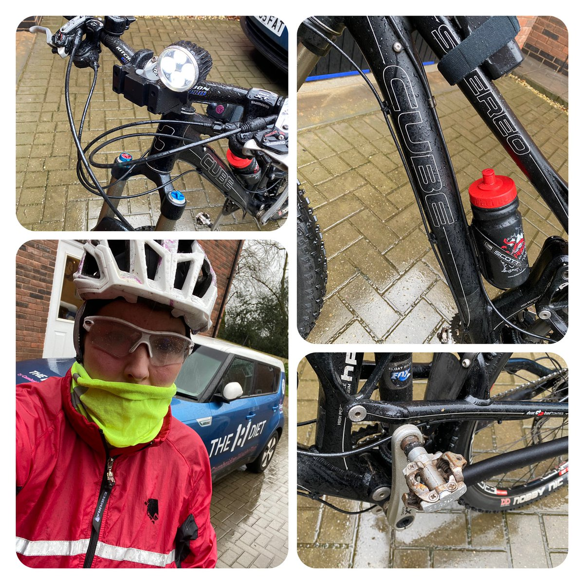 It's cold, wet & dull so I didn't really want to train today but with #ChineseNewYear celebrations later I committed to double training yesterday, the same tomorrow with a normal uphill session today & I'm so glad I did as I love #biking more #mountainbiking than road #thisweekpic.twitter.com/ZAOSljXKMi