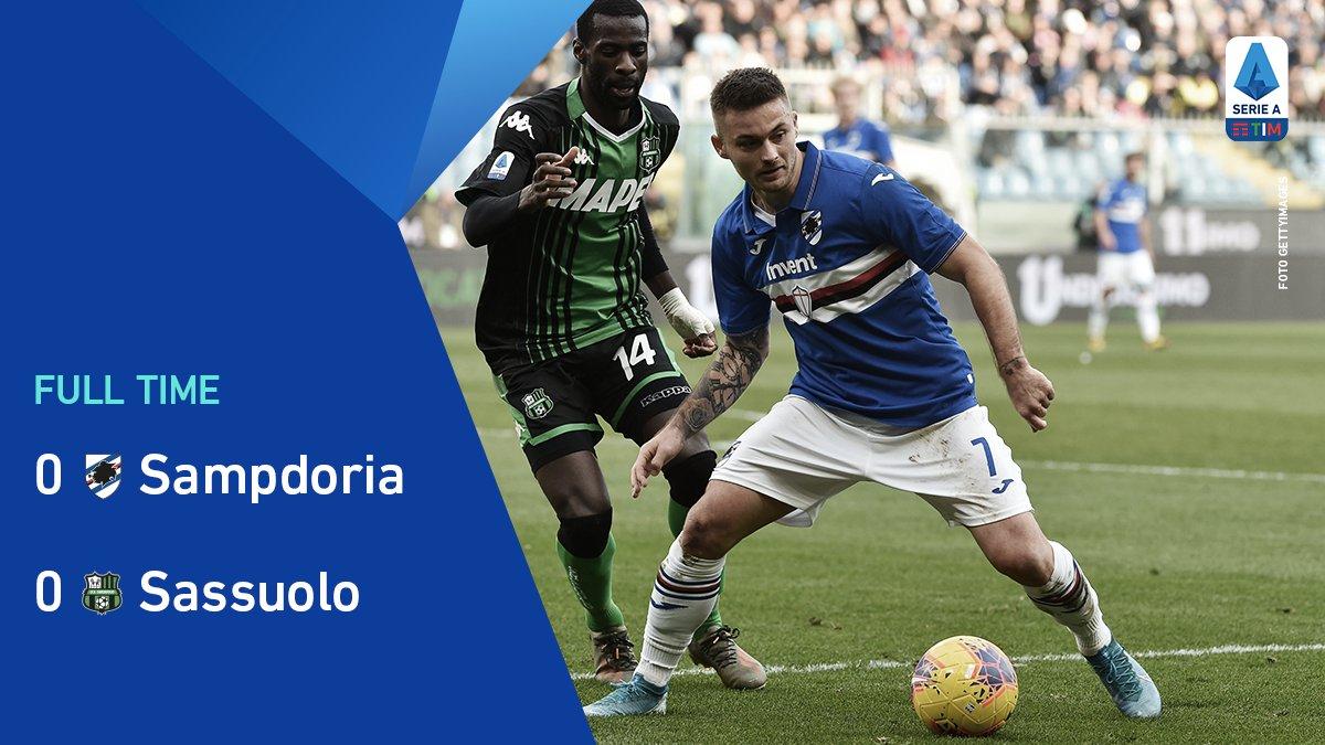 #SampdoriaSassuolo