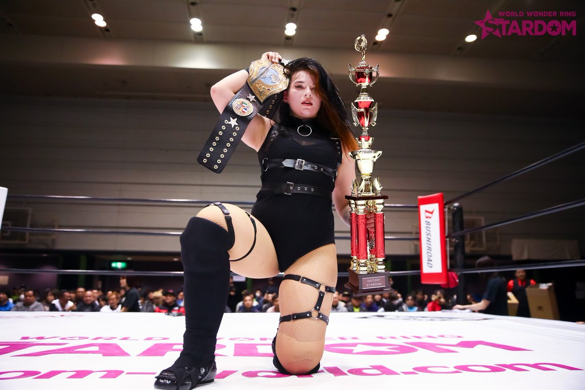 We Are Stardom On Twitter Jamie Hayter Is The 5th Swa Champion The Title Can Only Be Defended Against An Opponent From A Different Country Than That Of The Champion The Swa 30.09.2018 tag team match jamie hayter & kimber lee vs. jamie hayter is the 5th swa champion