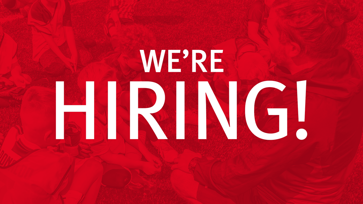 WE'RE HIRING a Health and Wellbeing Project Officer to lead on the operational delivery of health and wellbeing programmes.    Recruiting for enthusiastic and passionate Football Coaches to work with participants ranging from 5-16 years.  Details online https://bit.ly/2TURgidpic.twitter.com/6op93sga3K