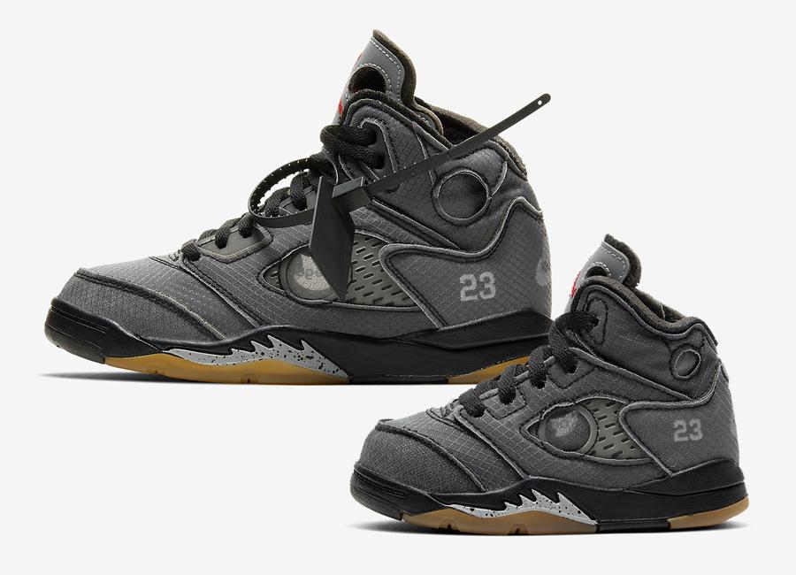 Off-White x Air Jordan 5 Releasing in Pre-School and Toddler Sizes https://sneakerbardetroit.com/off-white-air-jordan-5-release-date/…pic.twitter.com/K2OQTg9mtA
