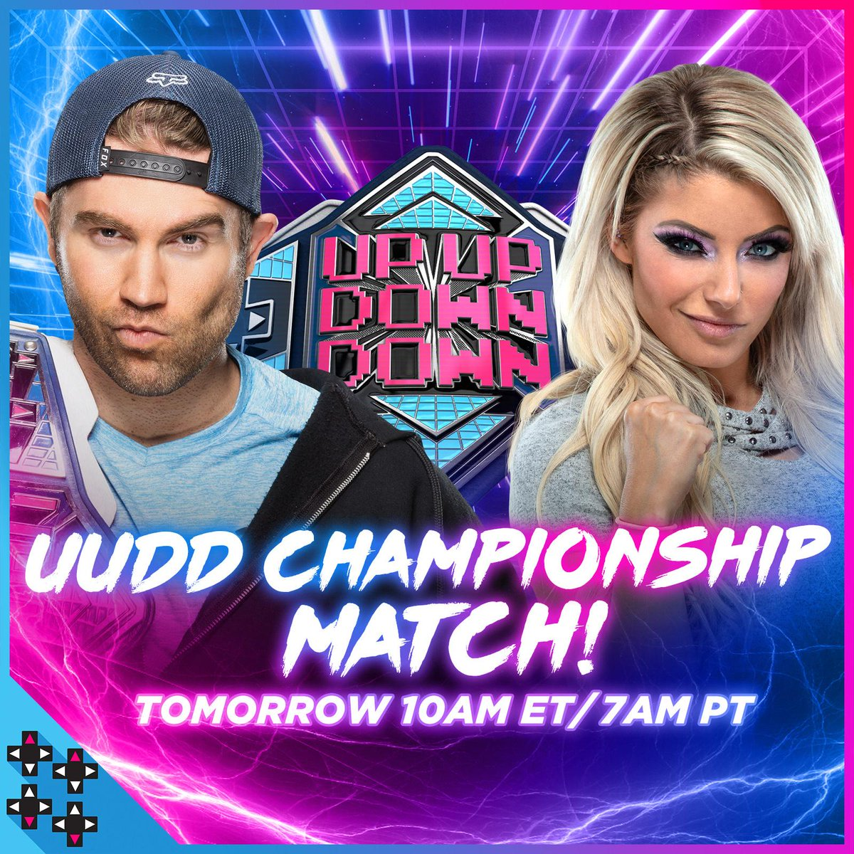 You demanded a rematch and now it's on! @MmmGorgeous puts the #UUDDTitle on the line against @AlexaBliss_WWE at #UUDDRumble!  #UUDD