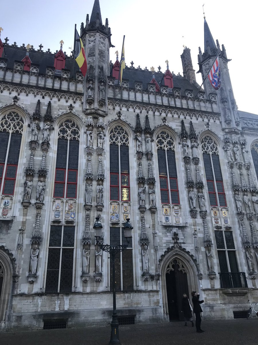 Bruges Town Hall 🤓for all the local gov peeps #localgov