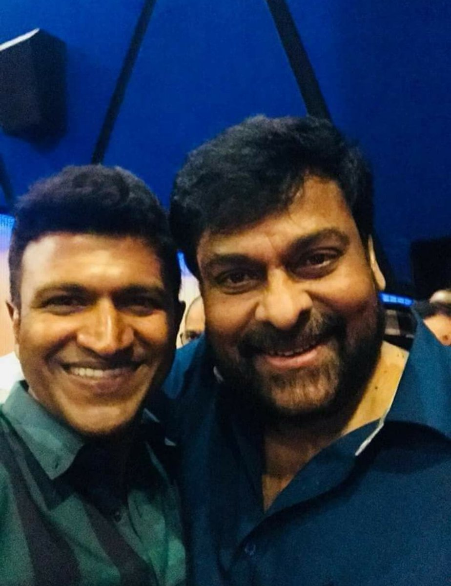 Good Night Everyone❤ Appu&Chiranjeevi 😊 #TheRajkumars #Appu #PowerStar #PuneethRajkumar #Chiranjeevi #PowerBoysMysore