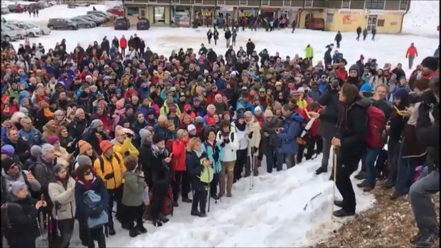 Manifestazione per la difesa del Parco della Lessi...