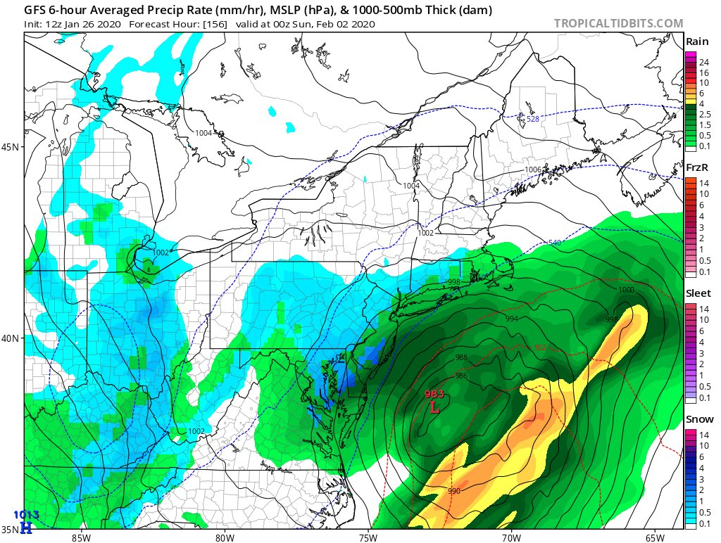 Many afternoon models on board with some kind of storm next weekend, track unknownpic.twitter.com/qeErli8I8t