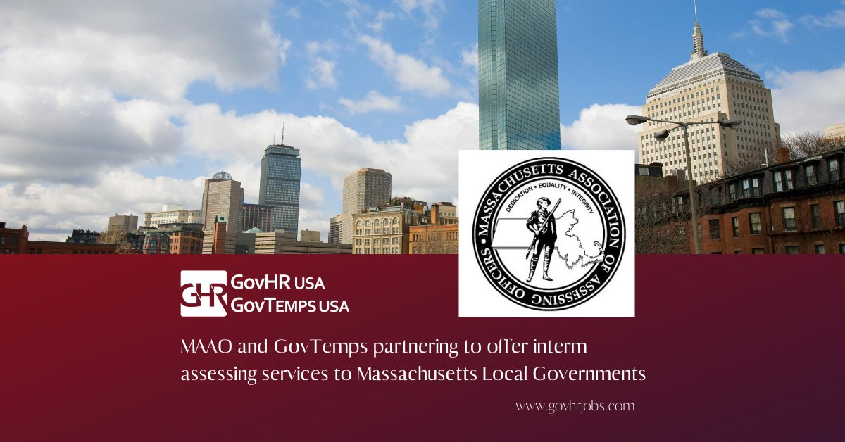 GovTemps - Massachusetts Interim Assessors. Apply at  @GovTempsUSA #localgov #govjobs #govtemps