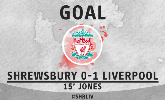 Whoscored Com On Twitter Goal Shrewsbury 0 1 Liverpool