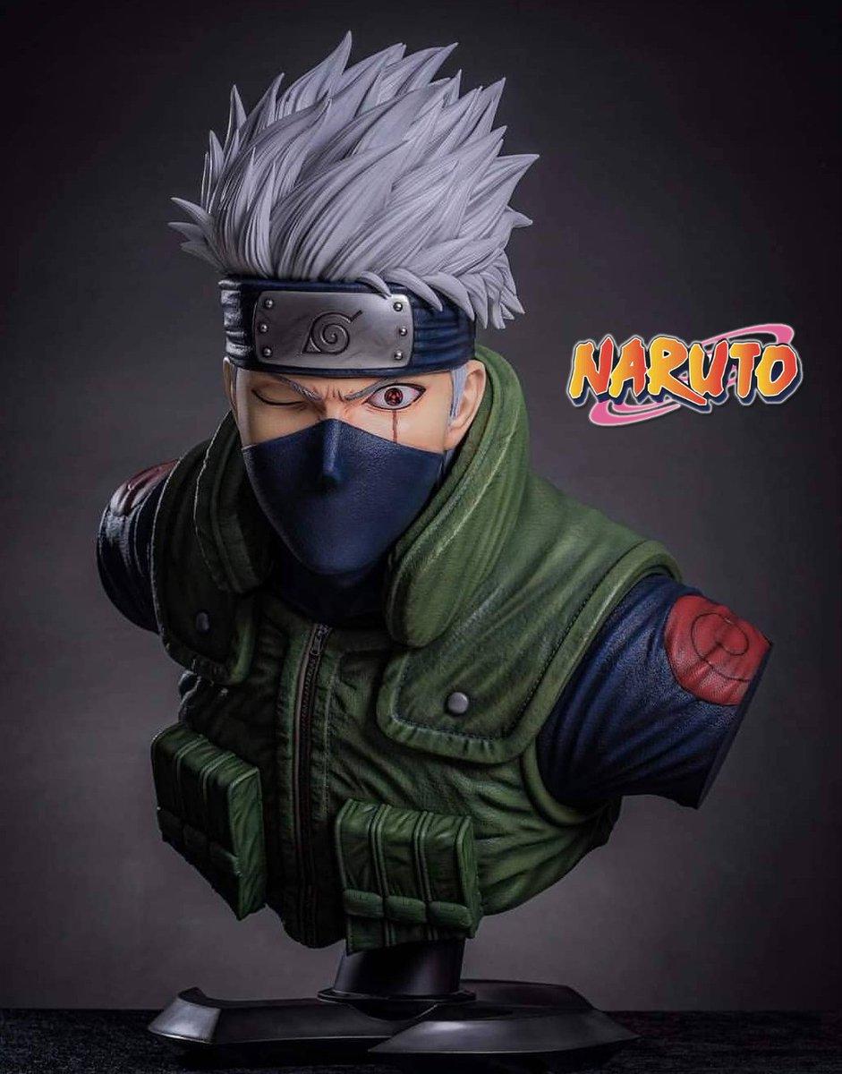 Siempre digo que no soy de bustos pero... - Escala 1/1 - Kakashi  - Esculpido por Giacinto Platania  - Pintado por Titinum Naksud  #Naruto #NarutoShippuden #Kakashi #KakashiHatake #KakashiSenseipic.twitter.com/WtkyPLFVO0