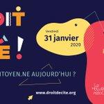 "Image for the Tweet beginning: ""Être citoyen·ne aujourd'hui?"" Débats, ateliers,"