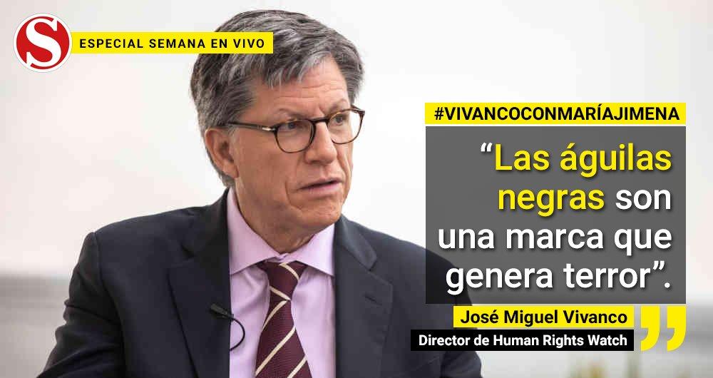 El director de Human Rights Watch, @JMVivancoHRW, habló con @MJDuzan sobre el informe que da cuenta de la situación en Arauca. Pero además resaltó el hecho de que el general Nicacio Martínez aún no haya dado respuestas ante la justicia http://bit.ly/36yuRdvpic.twitter.com/Uxi4cVgqxi