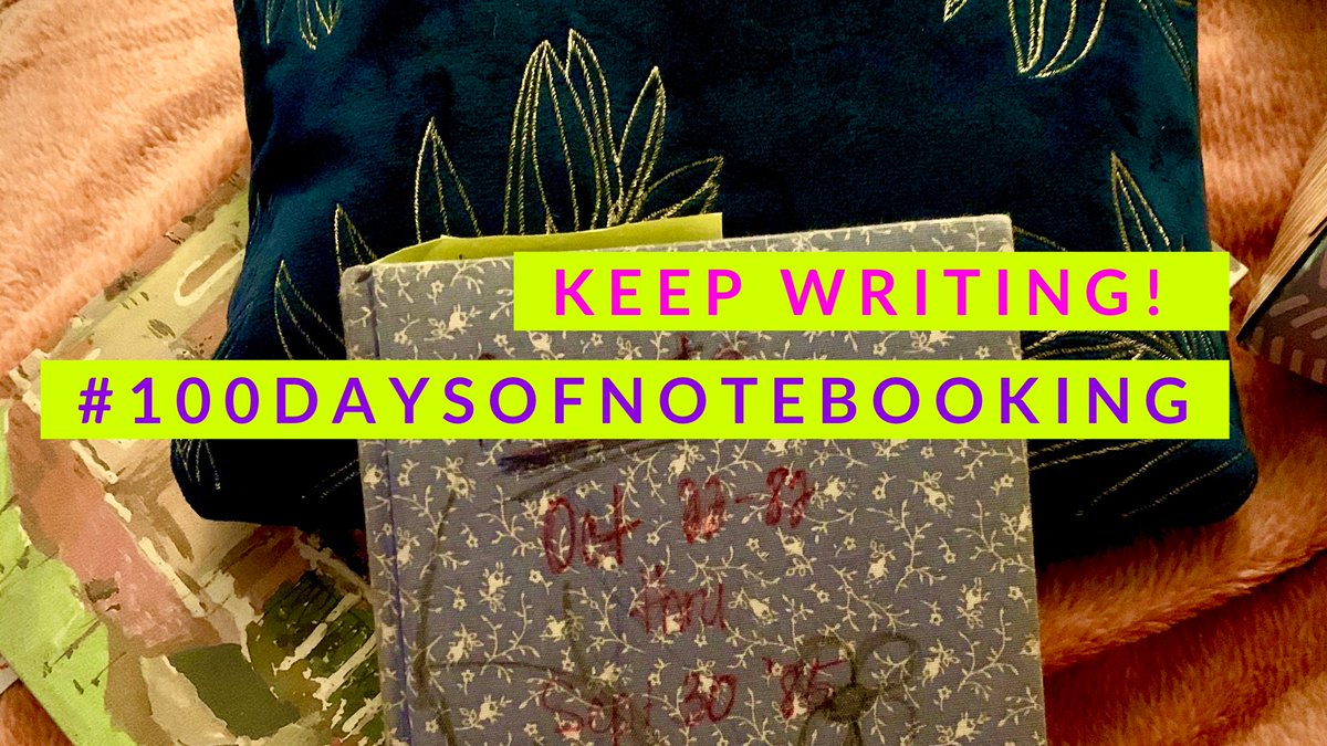 Can't think of what to put on the page? Here's a blog post with some ideas. Use what you can and leave the rest. Here's your invitation to notebook...  #100daysofnotebooking #TeachWrite