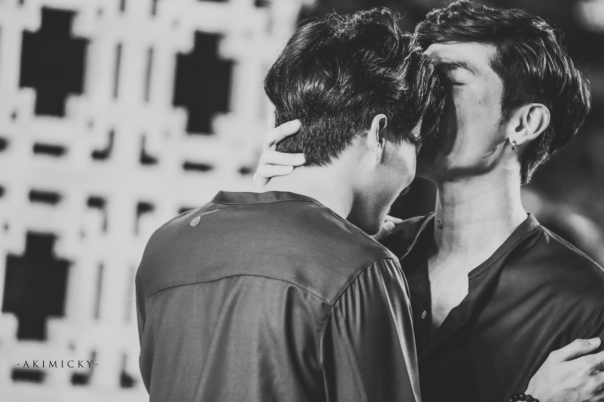 Got me hoping you save me right now your kiss... #MewGulf  #หวานใจมิวกลัฟ