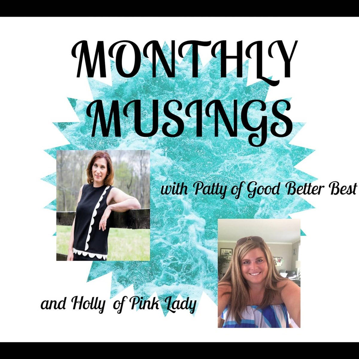 Excited to launch our new link up on Thursday Monthly Musings with Holly and Patty. Talking #Love on Thursday. Topic questions will be posted tomorrow. #monthlymusings #blog #LifestyleBlogger pic.twitter.com/hCsn2E2PcN
