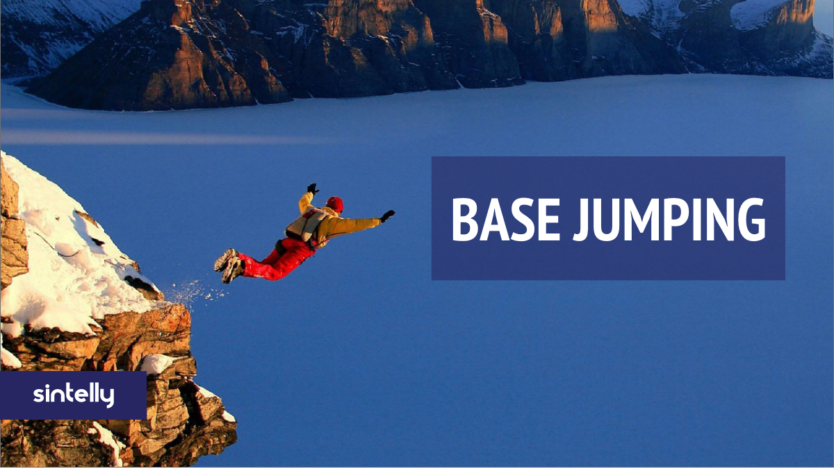 BASE jumping is parachuting from a fixed object. The term was coined by Carl Boenish, the father of BASE jumping, and is based on the type of object the jumper is leaping from - Building, Antenna, Span & Earth.   #BASEjumping #ExtremeSports #WeekendVibespic.twitter.com/SVTt69Sfbj