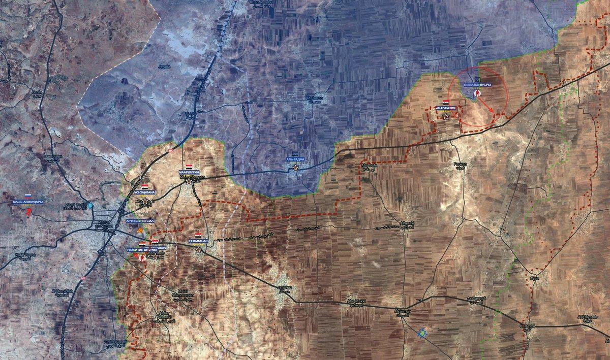 Сирийская армия вышла к трассе Хама-Алеппо