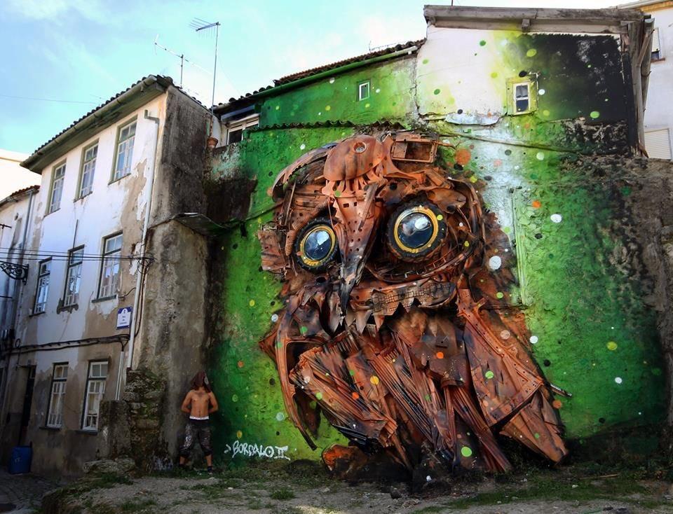 Sim, os grafites são e devem ser considerados arte. Basta que se apoiem os artistas certos.