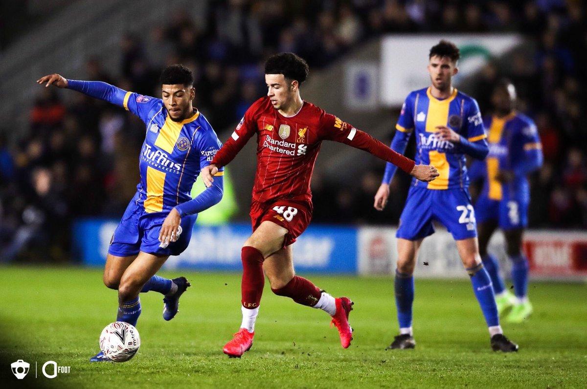 Shrewsbury 2-2 Liverpool, 26/01/2020