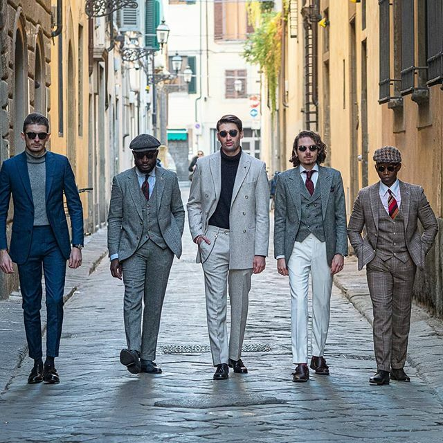 Hockerty dressed the most stylish gang in Pitti Uomo 97 #pu97 #pittiuomo #outfit #ootd #outfitoftheday #gentlemen #gents #gentlemenattitude#gentlemanstyle #menswear #mensfashionadvice #fashioninsta https://Hockerty.com pic.twitter.com/DuE4d3jfNl
