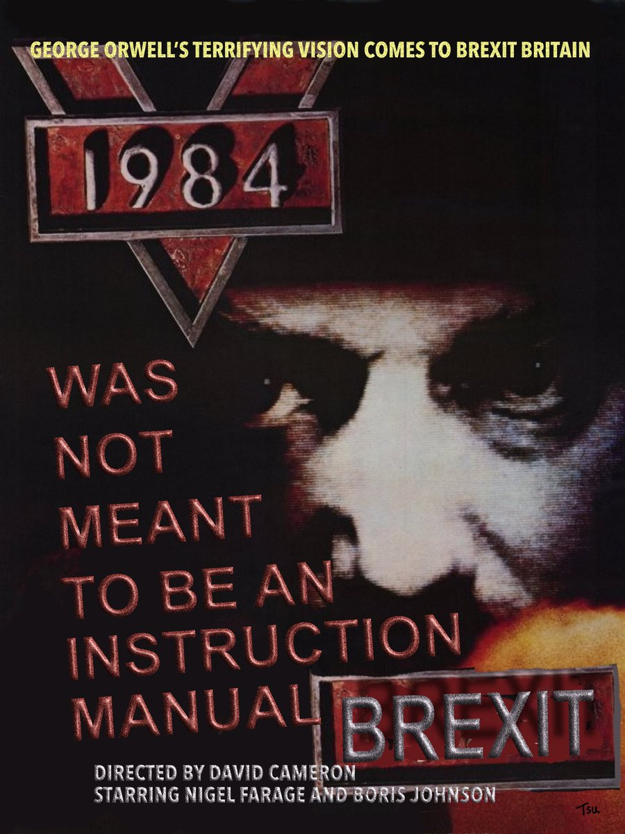 Proles ... 1984 was not meant to be an instruction manual. Retweet if you want your government to release the #RussiaReportNOW Retweet NOW.<br>http://pic.twitter.com/WV61Pah1Tt