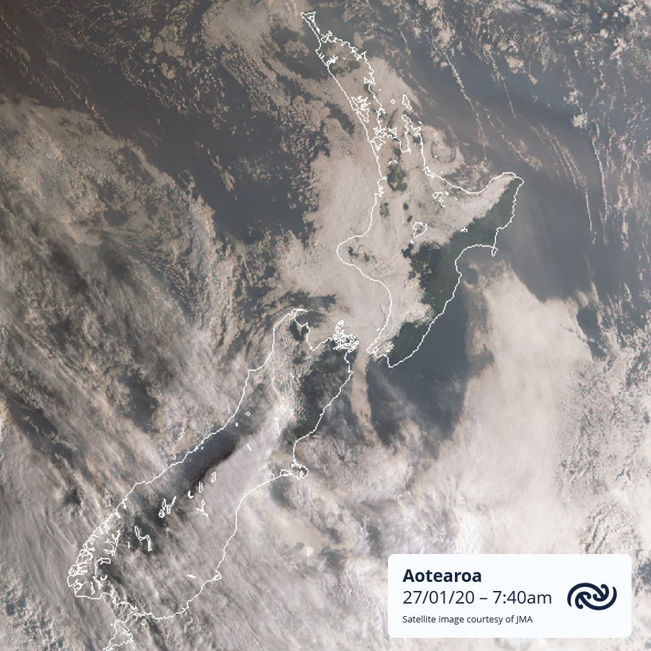 Plenty of cloud around on this satellite picture. Most of it will burn off this morning. Find your forecast at bit.ly/metservicenz ^AJ https://t.co/tlHy0XnlEi