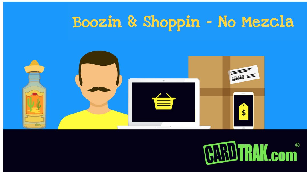 Drunk Online Shoppers Blow Budgets with Stupid Purchases But Remain Most Savvy as They Madly Search for Coupons & Deals http://dld.bz/h6j66 #couponfollow creditcards @amazon @klarna @afterpay @affirm #cardata @cardsavvy http://www.CardTrak.compic.twitter.com/eJEXHezGb6