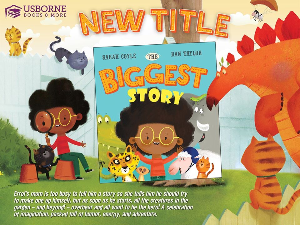 The Biggest Story - A celebration of imagination, packed full of humor, energy, and adventure.  #kidsbooks #literacy #Childrenbooks #homeschooling https://b9359.myubam.com/p/8192/biggest-story-the …pic.twitter.com/fZvjtf11sf