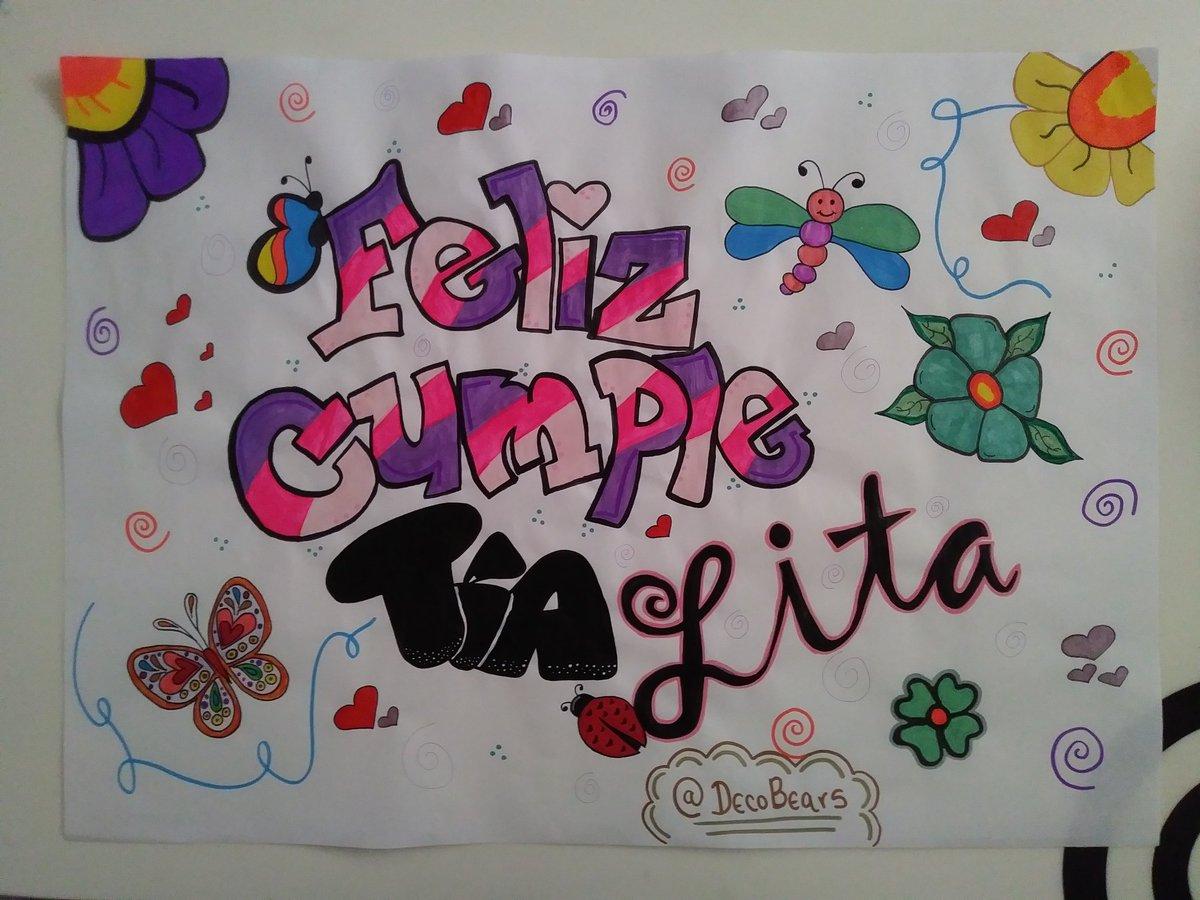 Feliz cumple  • Pancartas personalizadas para ocasiones especiales • #SanCristóbal #Táchira #Detalles #Pancartas #Sorpresas #BabyShower #Graduación #Cumpleaños #Regalos #Amor #Aniversario #CumpleMespic.twitter.com/TnsNWeDlQP