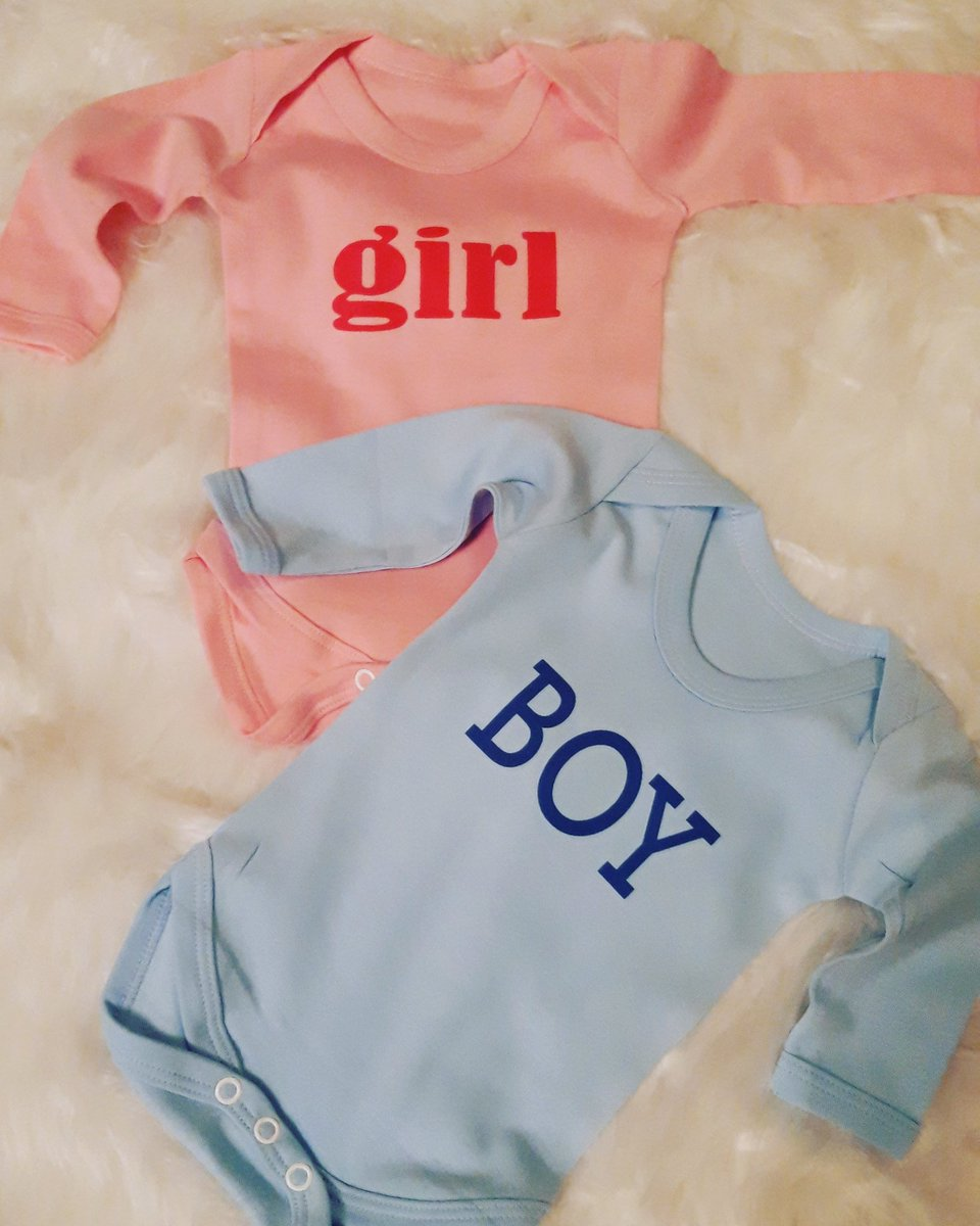 These girl and boy baby grows are ideal for baby shower gifts, at your gender reveal party or for new arrivals #babyshower #genderreveal #newbaby #twinspic.twitter.com/1sJfkPF5Cy