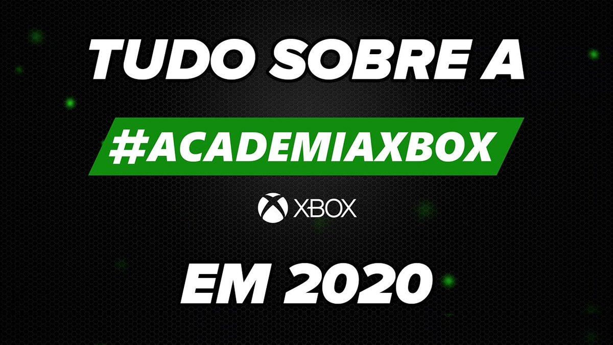 #AcademiaXbox em 2020  Tudo sobre o projeto:  Motivação, Aprendizado, Ganhos, Conquistas, Pontos altos e como você pode participar disso tudo em breve!  https://youtu.be/IrE6J5YKXMA  #ACX  #XboxBR pic.twitter.com/I0yUvNjejB