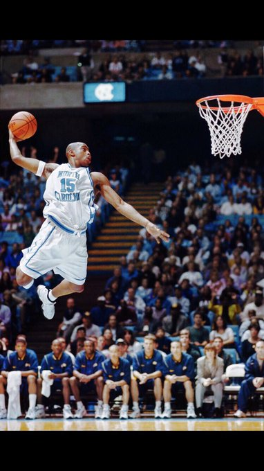 Happy birthday to the legendary Vince Carter! Can t believe we were at UNC together and he is still in the NBA!