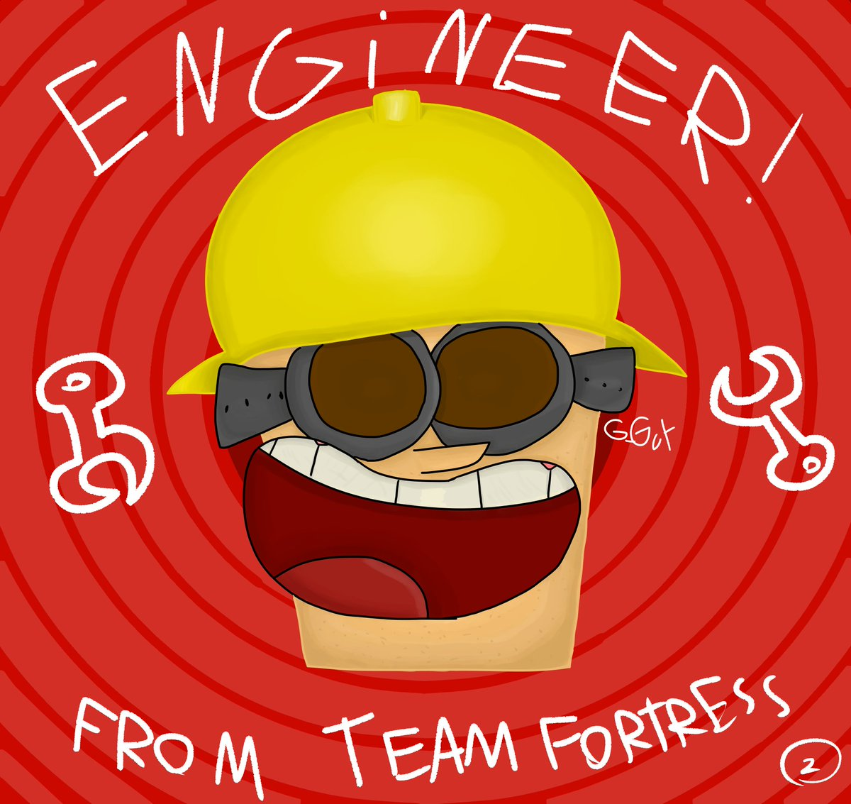 The Engineer is Engi-here @TeamFortress pic.twitter.com/Qr1RegLmFp