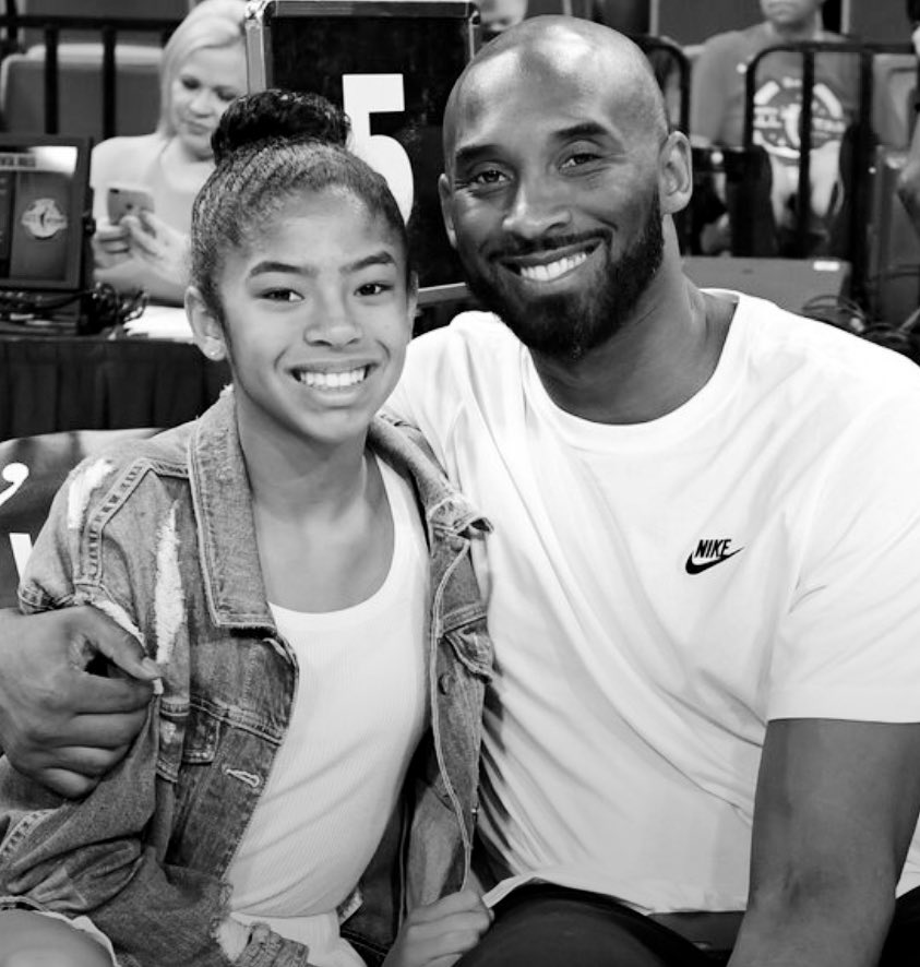 """""""Certainis it that there is no kind of affection so purely angelic as of a father to adaughter. In love to our wives there is desire; to our sons, ambition, but to our daughtersthere is something which there are no words to express.""""  #RIPKobe #RIPGiannapic.twitter.com/mWScDcZ1Gk"""