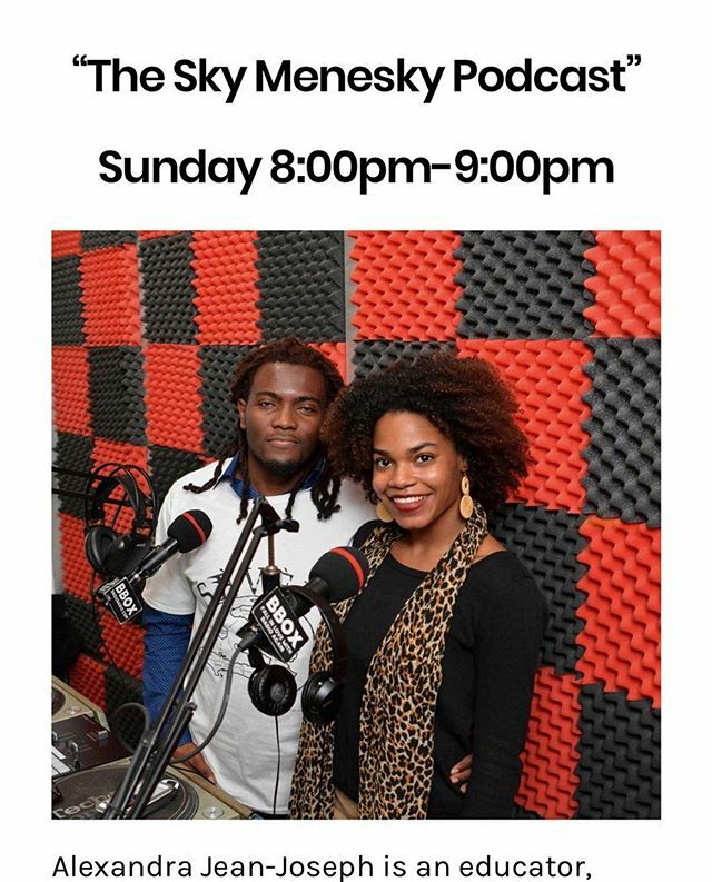 """Tune in Sunday's 8:00pm-9:00pm to """"The Sky Menesky Podcast"""" #social #socialworker #specialguest #sakpase #interview #thoughts #chat #music #kumpa #policebrutality #politics #history #hatian #story #education #socialaction #activist #society @skymenesky #internetradio #stream…pic.twitter.com/CJbuJA89Ma"""