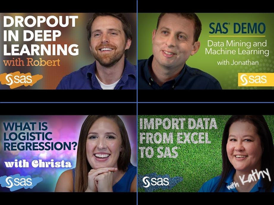 test Twitter Media - View the instructive tutorials on the SAS Users YouTube Channel, covering #DataScience #MachineLearning #AI #DeepLearning #Statistics #BigData #Analytics #DataLiteracy #StatisticalLiteracy etc.  ↓ ↓ https://t.co/LvdUOHkKNp via @SASsoftware #SASVisionary #BeDataBrilliant https://t.co/pMsO62uhb7