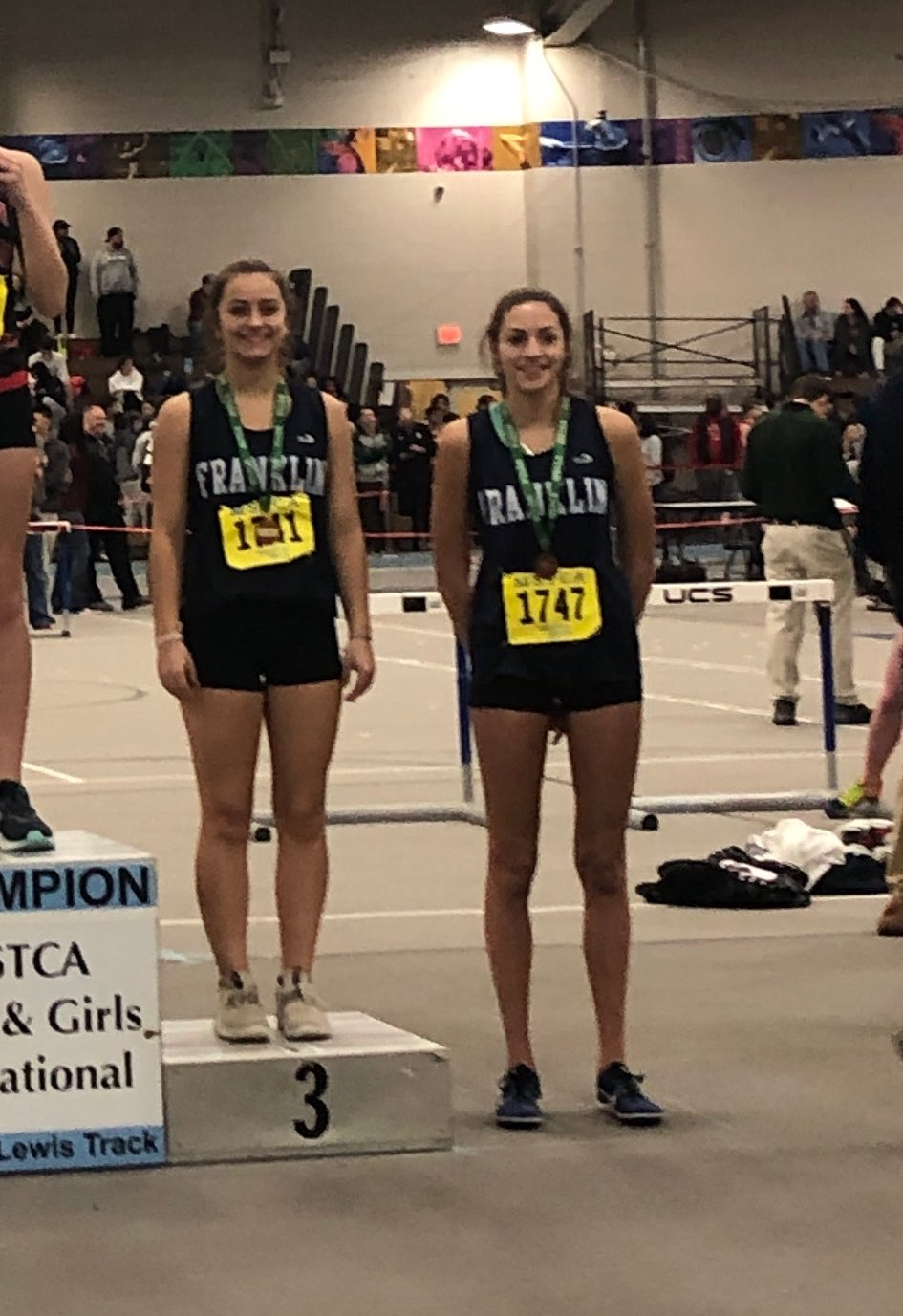 Ava Fraulo and Lindsay Morse scored in the high jump placing 3rd and 4th