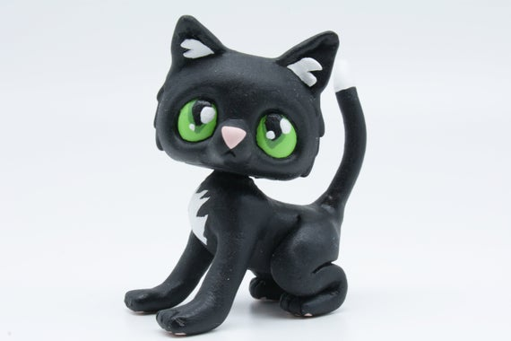 Ravenpaw Warrior Cats LPS Littlest Pet Shop Clay Custom Bobble Head Figure With Gift Box by CustomsWarrior Discover #giftshop #customshop #lpscustom https://etsy.me/2Rk30HM pic.twitter.com/h33G1mS6B5