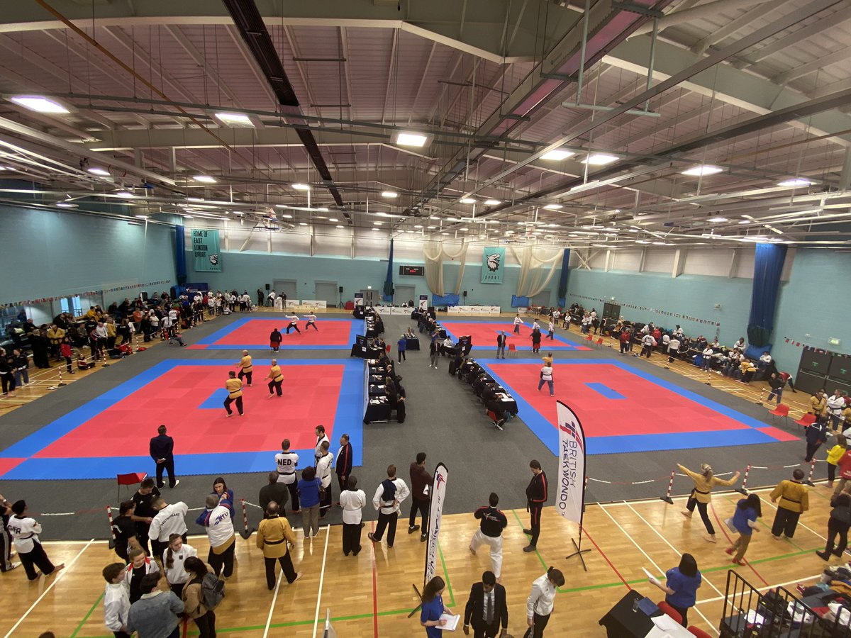 🗣| Huge thank you to everybody who came down to the GB open Poomsae Championships 2020 🥋 We hope you all enjoyed your weekend 🙌 Congratulations to everybody who took part 💯 Many thanks to all of our amazing referees and volunteers who helped out all weekend ✨ #GBOP2020