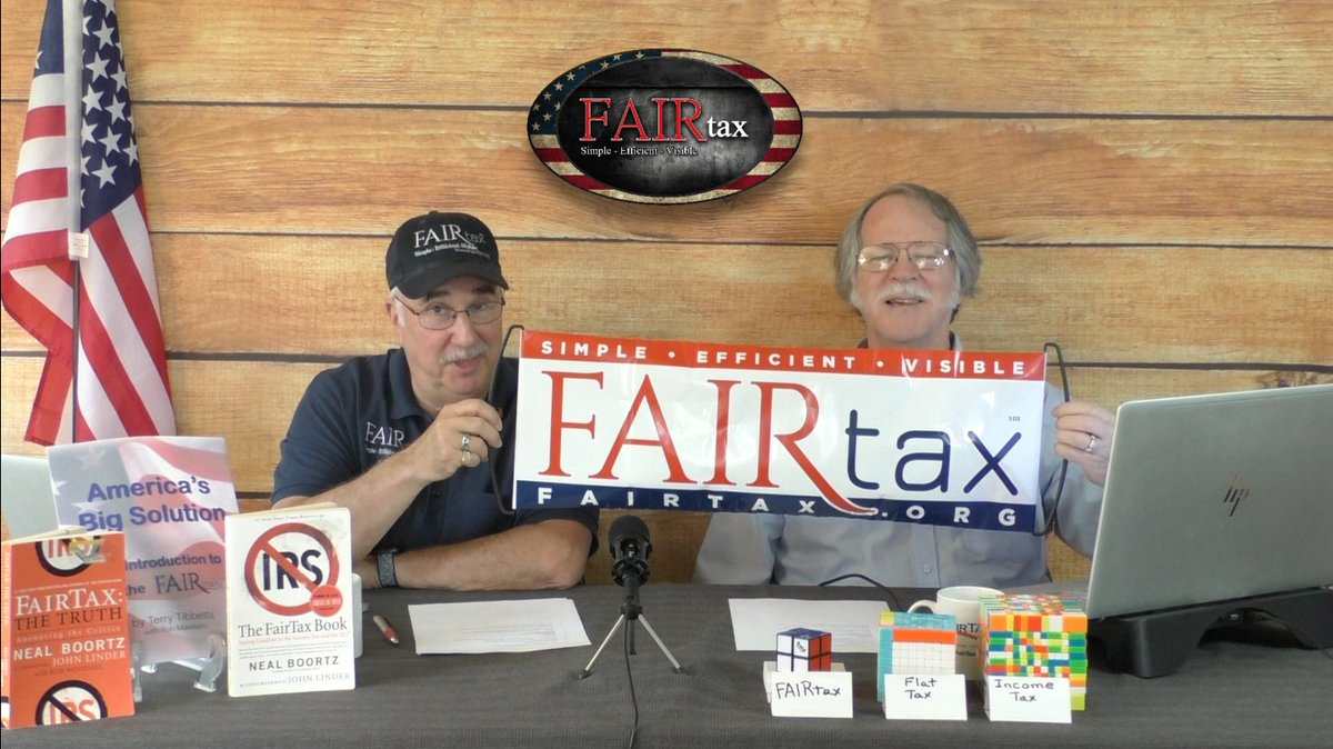 Want to know how to talk to candidates about #FAIRtax & #TaxReform? Catch the all new show The #FAIRtax Guys on Tues. 11am ET here on Twitter/Periscope. Retweet & urge others to join the show.<br>http://pic.twitter.com/OmZ875r7Ld