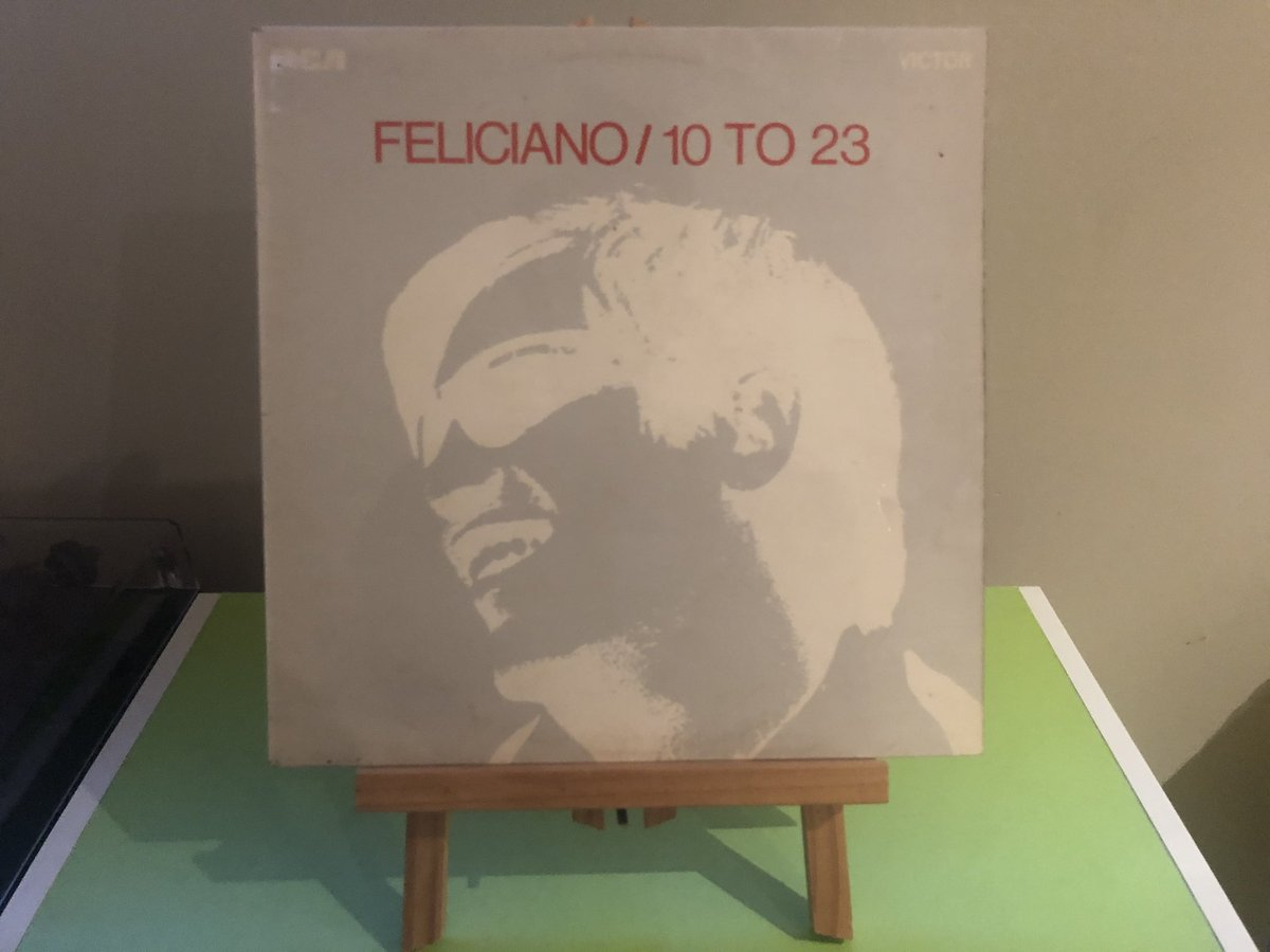 """The apple tree that grew for you and me I watched the apples falling one by one And I recall the moment of them all The day I kissed your cheek and you were gone..."" Jose Feliciano, 10 To 23 (1969) #NowSpinning pic.twitter.com/QMTT6pNrw6"