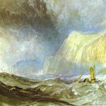 Image for the Tweet beginning: Shipwreck off Hastings, 1825 #jmwturner