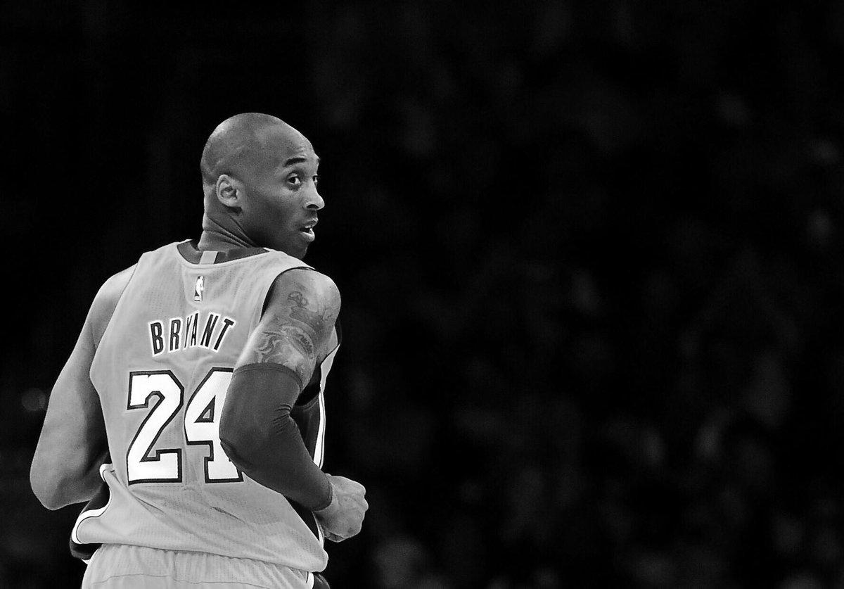 A true sporting icon. Rest in peace, Kobe.