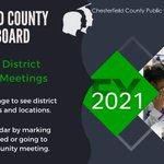Image for the Tweet beginning: The #oneCCPS School Board will