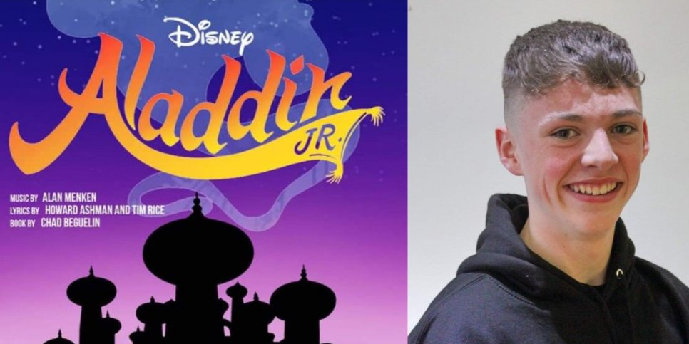 Meet the Cast! Aladdin played by Joe Hinchliffe, a poor street urchin with a heart of gold on his quest to win Princess Jasmine's heart. Please support this fantastic cast at @squarechapel 19th-22nd Feb. You can buy tickets here: [https://www.squarechapel.co.uk/whats-on/aladdin/…] See you there!pic.twitter.com/XtxtZa1hAa
