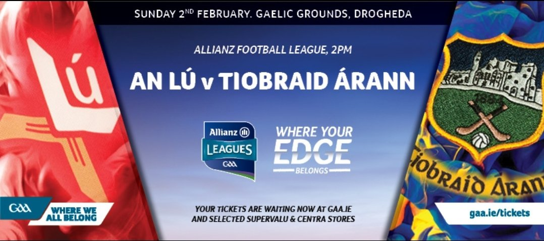 test Twitter Media - Allianz Division 3 Round 2  Louth v Tipperary at 2pm next Sunday in Drogheda.  The lads will be looking to get a win on board after a disappointing result today.  #wherewebelong https://t.co/csOQWdkLvD