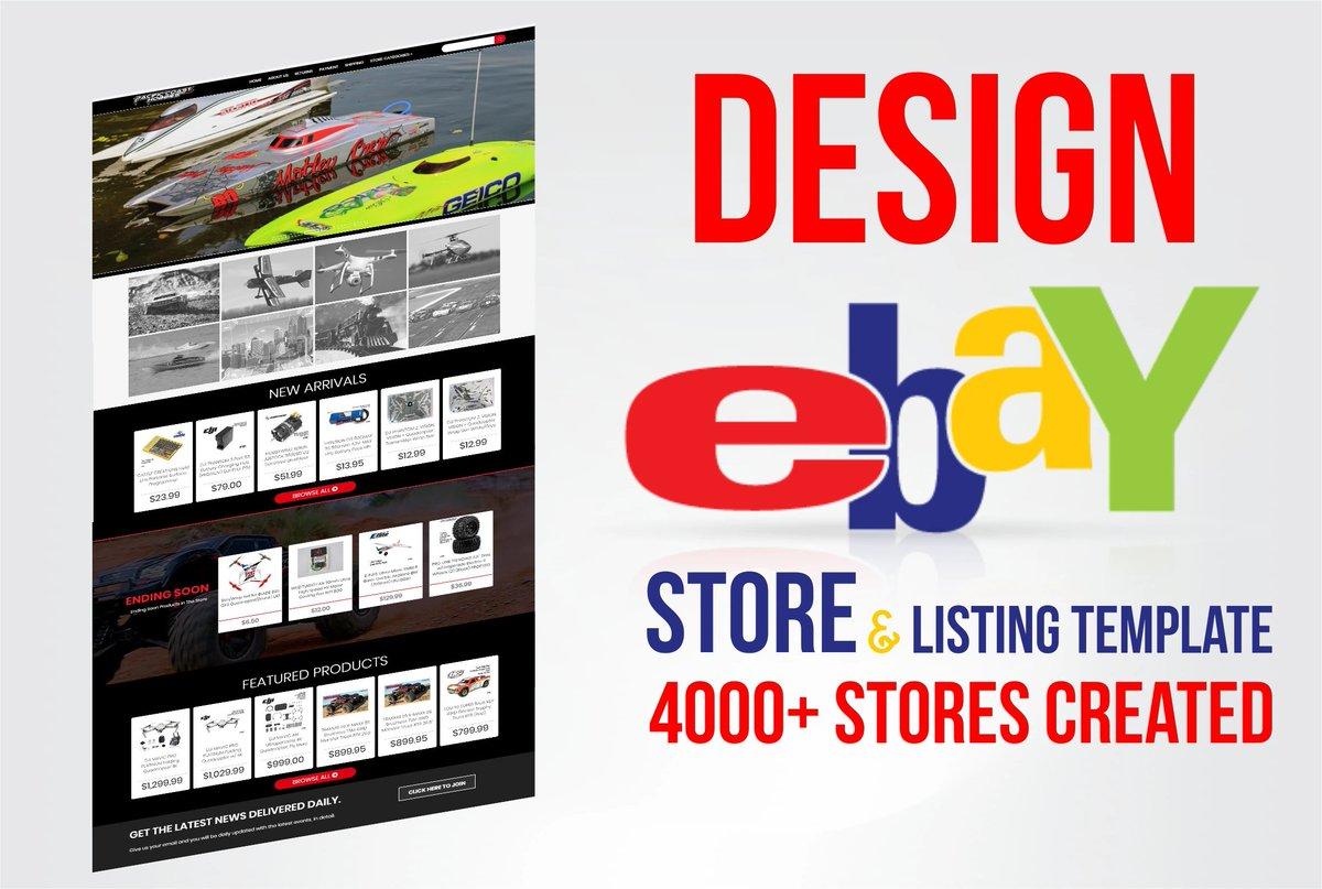 I will create amazing #eBay store and listing template link >https://track.fiverr.com/visit/?bta=65812&nci=6108… #ebay #ebayseller #ebaystore #reseller #ebayreseller #vintage #forsale #resellercommunity #fashion #poshmarkseller #ebaysales  #sale  #ebayshop #ebaybusiness #ebayresellers #entrepreneurpic.twitter.com/5MyFKkRUXs